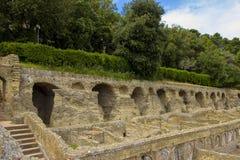ITALY - NAPOLI - Scavi archeologici di Baia Stock Photos