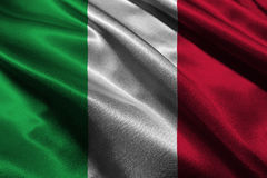 Italy national flag illustration symbol.  Royalty Free Stock Images