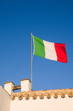 Italy. National flag Stock Image
