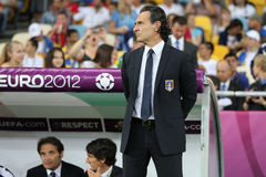 Italy national team head coach Cesare Prandelli Royalty Free Stock Photo