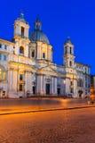 italy navona piazza Rome Zdjęcia Stock