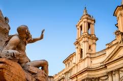 italy navona piazza Rome Zdjęcie Stock