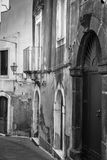 Italy: The old streets of Rome. Royalty Free Stock Images