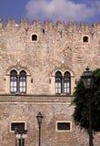 italy palazzosicily taormina Royaltyfri Bild