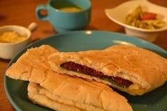 Italy panini sandwich Stock Images