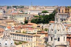 italy panorama rome royaltyfri bild