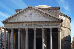 italy pantheon royaltyfri fotografi