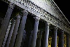 italy pantheon rome Arkivfoton