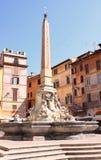 italy pantheon rome fotografering för bildbyråer