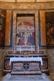 italy pantheon rome Royaltyfria Bilder