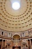 italy pantheon rome Arkivbild