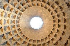 italy pantheon rome Royaltyfri Fotografi