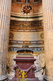 italy pantheon rome Royaltyfria Foton