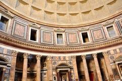 italy pantheon rome Royaltyfri Bild