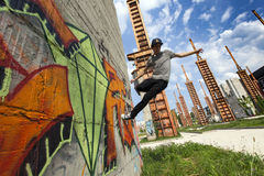 Italy - Parkour Stock Images