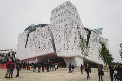 Italy pavilion at Expo 2015 in Milan, Italy Stock Images