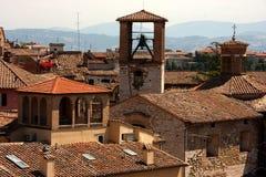 italy perugia rooftops umbria Royaltyfri Bild