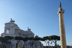 italy piazza Rome venezia Obrazy Royalty Free