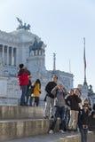italy piazza Rome venezia Obrazy Stock