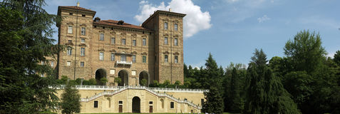 Italy, Piemont, Turin, Ducal castle of Aglie Royalty Free Stock Photo