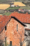 Italy: Piemontese landscape Stock Image