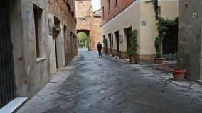 Old streets in Tuscany