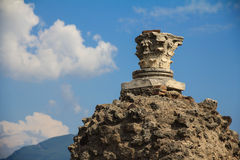 italy pompei royaltyfri bild