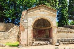 italy pompeii vektor illustrationer