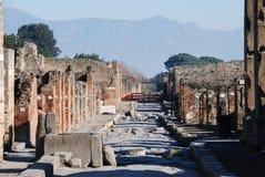 italy pompeii Royaltyfri Foto
