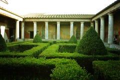 Italy. Pompeii, Italy - November 2016: the walk in Pompeii royalty free stock images