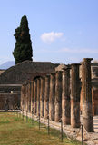 Italy Pompeii ruins Stock Photos