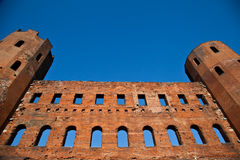 Italy - Porte Palatine Royalty Free Stock Images