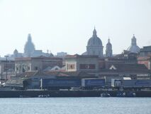 Italy-Porto_di_Catania - Creative Commons by gnuckx Royalty Free Stock Photos