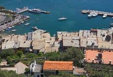 italy porto veneresikt Royaltyfri Foto