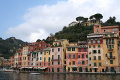 Italy, Portofino harbor Royalty Free Stock Photography