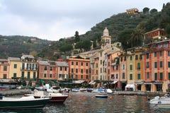 Italy. Portofino harbor Royalty Free Stock Photography
