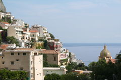Italy, Positano Royalty Free Stock Photography