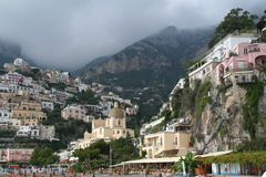 Italy. Positano resort Stock Photography