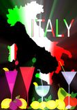 Italy products Royalty Free Stock Image