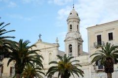 Italy, Puglia, Bari, Trani, Carmine Church Royalty Free Stock Images