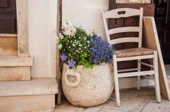 Italy Puglia Locorotondo Royalty Free Stock Photo