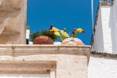 Italy Puglia Locorotondo Royalty Free Stock Photography