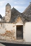 Italy-Puglia-Traditional home abandoned Royalty Free Stock Photo