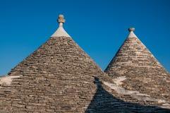Italy Puglia Trulli Alberobello Royalty Free Stock Images