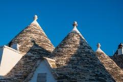 Italy Puglia Trulli Alberobello Stock Photo