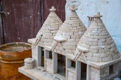 Italy Puglia Trulli Gift Royalty Free Stock Photo