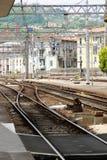 Italy rail road Stock Image