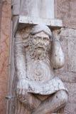 Italy, Ravenna statue Royalty Free Stock Photo