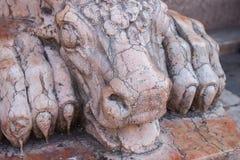 Italy, Ravenna statue Royalty Free Stock Image