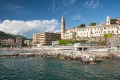 Italy, Recco, Mediterranean Sea Stock Photography